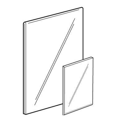 Acrylic Poster Sleeve Literature Holder Poster Display